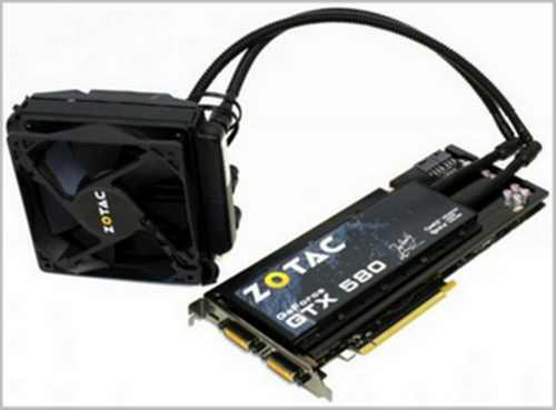 Zotac με την CoolIT έχουν GeForce GTX 580 Infinity Edition