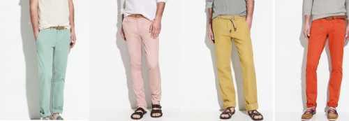 Παντελόνια με χρώμα !!!