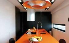 Σοκολατί και πορτοκαλί για μια ζεστή τραπεζαρία
